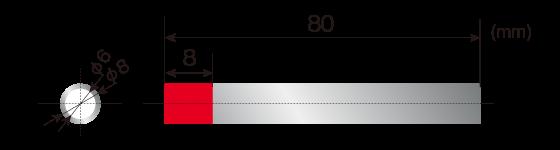 DLAMP処理形状[SUS管]